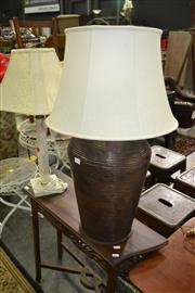 Sale 8093 - Lot 1393 - Collection of 3 table Lamps