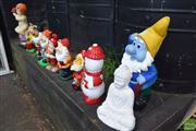Sale 8532 - Lot 1231 - Collection of Garden Statues