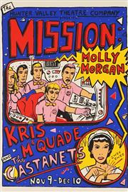 Sale 8813A - Lot 5062 - Michael Bell (1959 - ) - Mission Molly Morgan 37 x 55cm