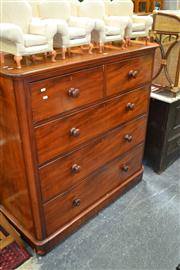 Sale 8050B - Lot 27 - Victorian Mahogany Chest Of Five Drawers