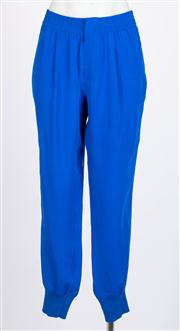 Sale 8640F - Lot 87 - A pair of Vince silk pants with elastic ankle, size medium.