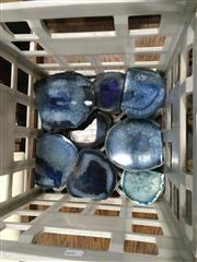 Sale 8795 - Lot 1066 - Crate of Blue Agate