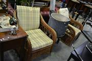 Sale 7987A - Lot 1119 - Pair of Cane Armchairs