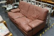 Sale 8031 - Lot 1058 - Moran Leather 2 Seater Lounge