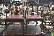 Sale 8302 - Lot 1045 - Pair Of Chippendale Style Armchairs