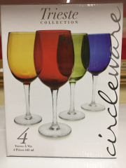 Sale 8677B - Lot 996 - Forty coloured wine glasses together with sundry others (boxed)