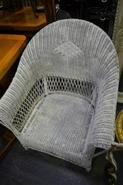 Sale 8031 - Lot 1081 - Wicker Armchair