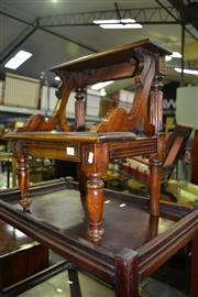 Sale 8093 - Lot 1337 - Mahogany Step Stool