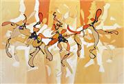 Sale 8235A - Lot 65 - Vencent Ko (1955 - ) - Abstract 117 x 171cm