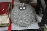 Sale 8256 - Lot 74 - Crystal Light Fitting