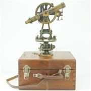 Sale 8332 - Lot 2 - Angelo Tornaghi Theodolite