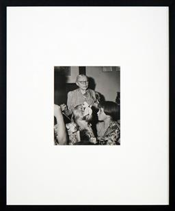 Sale 8592A - Lot 5088 - Max Dupain (1911 - 1992) - Woman and Children 24 x 20cm