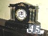Sale 7504A - Lot 45 - BLACK MANTEL CLOCK