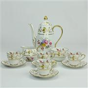 Sale 8372 - Lot 28 - Copeland Spode Coffee Setting for Four