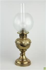 Sale 8546 - Lot 82 - Early Gas Lamp Marked Miller