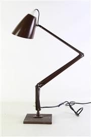 Sale 8948 - Lot 35 - A Chocolate Brown Planet Lamp