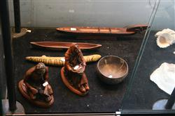 Sale 7914 - Lot 75 - Coconut Bowl & Other Tribal Wares
