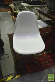 Sale 8328 - Lot 1086 - Set Of Four Reproduction Eiffel Chairs In White