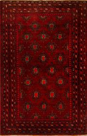 Sale 8424C - Lot 9 - Persian Turkman 240cm x 170cm