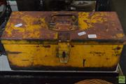 Sale 8530 - Lot 2175 - Tool Box & Contents