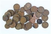 Sale 8994 - Lot 53 - Collection of Pennies & Half Pennies