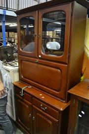 Sale 8031 - Lot 1099 - Modern Drop Down Secretaire Cabinet