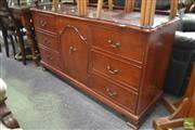 Sale 8277 - Lot 1032 - Timber Sideboard on Castors