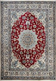 Sale 8307A - Lot 35 - Persian Nain Tabas 205cm x 145cm RRP $1200