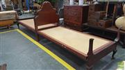 Sale 8338 - Lot 1448 - Pair of Single Beds