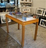 Sale 8734A - Lot 55 - Display table with acrylic case