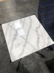 Sale 8782 - Lot 1317 - Square Marble Pastry Board (50cm2)