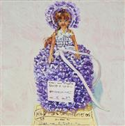 Sale 8901 - Lot 524 - Lucy Culliton (1966 - ) - Dressed Doll - Knitting, Lace, 2007 37.5 x 37.5 cm