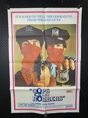 Sale 9003P - Lot 2 - Vintage Movie Poster - Cops and Robbers (H: 100cm x W: 68cm)