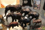 Sale 8217 - Lot 99 - Herd of Timber Elephants