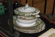 Sale 8256 - Lot 95 - Adderley Meat Plates with Other Ceramics incl. Soup Tureen