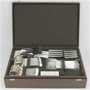 Sale 8332 - Lot 15 - Christofle America Cutlery Setting for Eight Persons