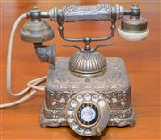 Sale 8368A - Lot 95 - A vintage dial up telephone