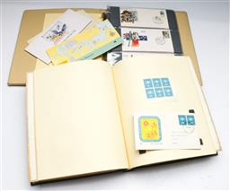Sale 9156 - Lot 290 - Collection of stamps inc 1st day covers in albums