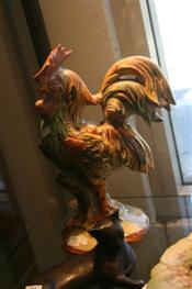 Sale 7875 - Lot 95 - Capodimonte Figure of a Cockerel