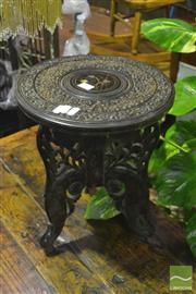 Sale 8307 - Lot 1025 - Ornate Carved Balinese Table