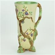 Sale 8413 - Lot 35 - Clarice Cliff Newport Pottery 'Cherry Trees' Vase