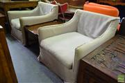 Sale 8550 - Lot 1567 - Pair Of Armchairs