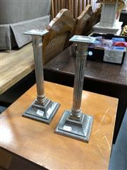 Sale 8854 - Lot 1093 - Pair of Candle Stick Holders