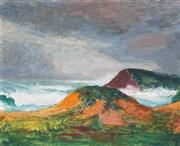 Sale 8907 - Lot 533 - Roland Wakelin (1887 - 1971) - On The Shore 24 x 30.5 cm