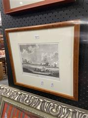 Sale 8936 - Lot 2069 - Robert Cleveley, View in Port Jackson, Engraving Framed, 19x24cm