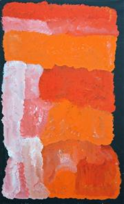 Sale 8203A - Lot 86 - Kudditji Kngwarreye (c.1932 - ) - My Country, 2014 97 x 59.5cm (framed & ready to hang)