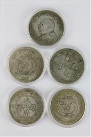 Sale 8393 - Lot 61 - Chinese Money Coins(5)