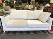 Sale 8787 - Lot 1068 - Fabric Two Seater Lounge