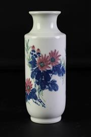 Sale 8940T - Lot 693 - A Chinese Ceramic Vase h 20cm