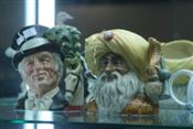 Sale 7875 - Lot 5 - Royal Doulton Toby Jugs The Ringmaster & Snake Charmer